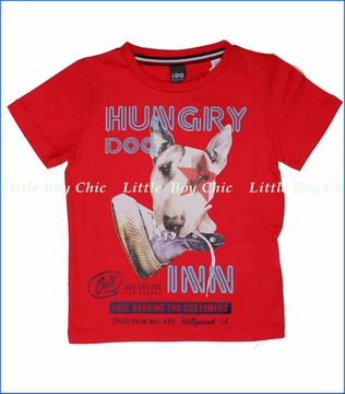 iDo, Hungry Dog Inn Tee in Red (c)