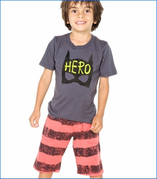 Joah Love, Alan Hero Tee with Knox Skid Shorts