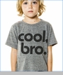 Joah Love, Cool Bro Tee in Grey (c)