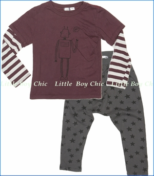Joah Love, Dax-Robot Tee with Ryder-Star Pants