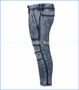 Joah Love, Distressed Ryu Pants in Blue