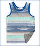 Joah Love, Graham Muscle Tank in Blue (c)