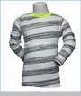 Joah Love, L/S Stripe T-Shirt in White