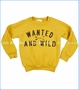 Joah Love, Parker Quilted Sweatshirt in Mustard