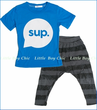 Joah Love, SUP Tee with Ryder Pants