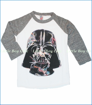 Junk Food, Darth Vader Tee in Electric White