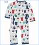 KicKee Pants, Baby Laundry Coverall in Natural (c)