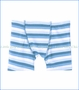 Kickee Pants, Boxer Briefs (Set of 2) in Salty Sea Strip and Boy Cowfish