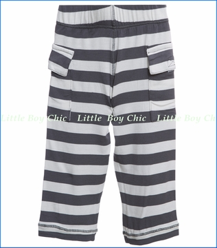 KicKee Pants, Contrast Stripe Knit Cargo Pant (c)