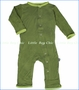 Kickee Pants, Koala Applique Coverall in Moss (c)