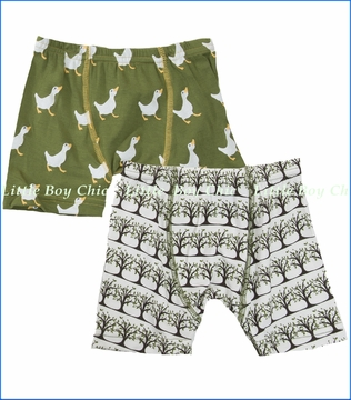 KicKee Pants, Tree and Duck Boxer Briefs - 2 Pack