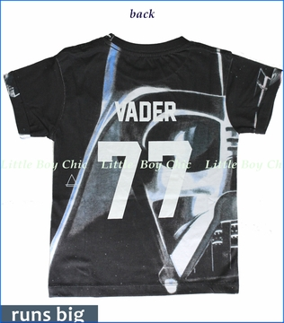 Little ElevenParis, Vader Oversized Tee in Black