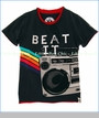 Mini Shatsu, Beat It Boombox Tee (c)