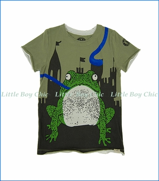 Mini Shatsu, Once Upon A Time T-Shirt in Green