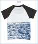Mini Shatsu, Shark Encounter Raglan Tee (c)