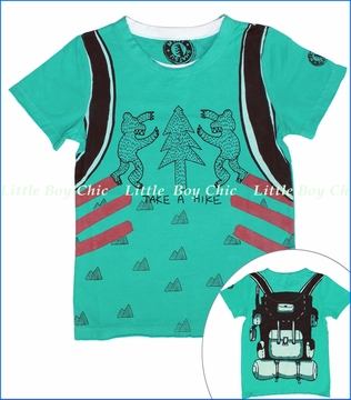 Mini Shatsu, Take A Hike Tee (c)