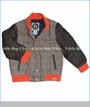 Mini Shatsu, Tweed Letterman Jacket (c)