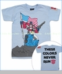 Monster Republic, Optimus Prime Stars and Stripes Tee in Blue (c)