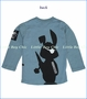 Monster Republic, Special Agent Bunny Tee in Blue (c)