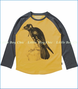 Munster, Eagle Eye Tee in Gold (c)