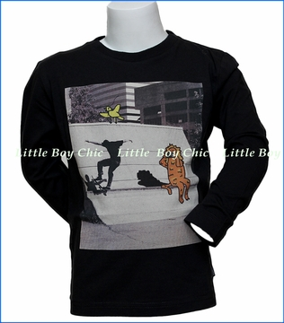 Munster, LS Chase T-Shirt in Black