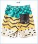 Munster, Race Board Shorts in Gold