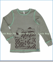 Nano, Construction Thermal Tee in Taupe (c)