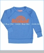 Prefresh, Stoked Fleece Sweat Shirt in Blue (c)