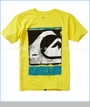 Quiksilver, Caption Tee in Butter Cup (c)
