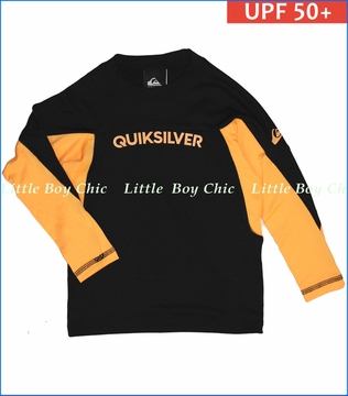 Quiksilver, Performer Surfshirt in Orange Pop (c)