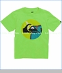 Quiksilver, Reanimate Tee in Lime Green (c)
