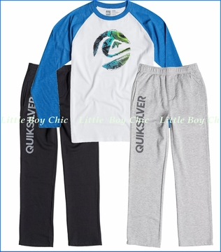 Quiksilver, Ripped Circle Tee with Everyday Track Pant