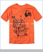 Quiksilver, Sail Away Tee in Heather Flame (c)