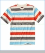 Quiksilver, Tower Rip Tee in Turtledove (c)