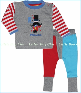 Rockin' Baby, Ringmaster Tee with Crawlin' Leggings