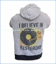 Rowdy Sprout, Beatles Vintage Light-weight Hoodie in Grey