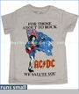 Trunk, ACDC Australian Flag Tee in Bone (c)