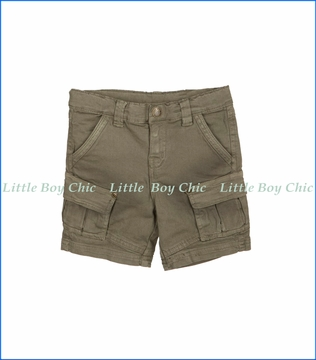 Tuc Tuc, Khaki Jungle Cargo Shorts