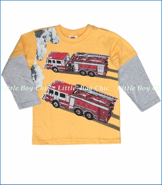 Tumbleweed, To The Rescue 2fer Tee in Saffron