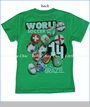 Wes and Willy, World Soccer Tee in Irish (c)