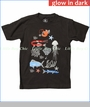 Wes & Willy, Sea Life Glow Tee in Metal