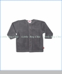 Zutano, Cotton Blend Fleece Jacket in Grey