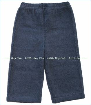 Zutano, Navy Cozie Fleece Pant (c)