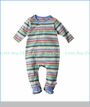 Zutano, Stellar Stripe Footie in Multicoloured