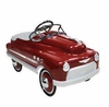 1950's Style Steel Pedal Car (Red Or Pink)