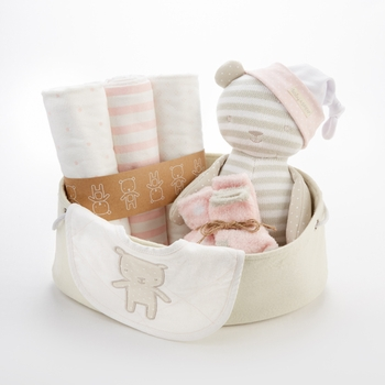 Baby Blankets And More For A Newborn Girl