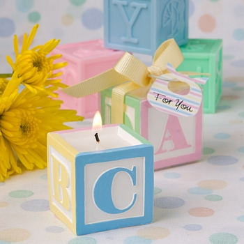Baby Blocks Scented Candles