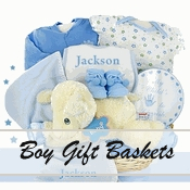 Baby Boy Baskets