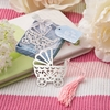 Baby Carriage Book Marks With Pink Or Blue Tassel