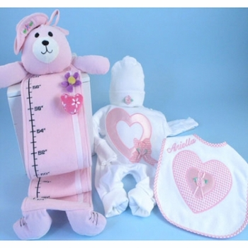 Baby Girl Growth Chart Personalized